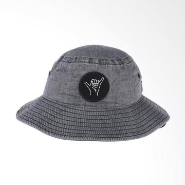 Quiksilver Buzzed Bucket M Hats Topi Pria - Black AQYHA03870-KVJ0