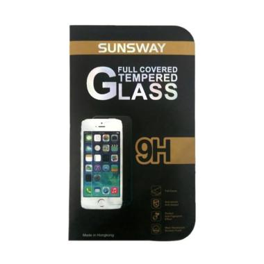Sunsway Tempered Glass Screen Protector for Samsung A7 [0.26mm/2.5D]