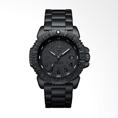 Luminox Navy Seal Steel Jam Tangan Pria - Black Out 3152.BO