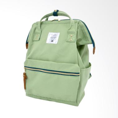 Anello Oxford Backpack Tas Ransel - Light Green [Size L]