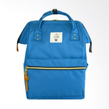 Anello Oxford Backpack Tas Ransel - Blue [Size L]