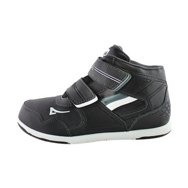 Ardiles Teen Gunnery Back To School Injection Boys Shoes - Black White