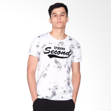 3SECOND 3008 T-Shirt Pria - White 112081712
