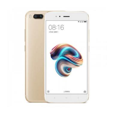 Xiaomi Mi 5x Smartphone - Gold [32 GB/4 GB] + Free Ring Holder