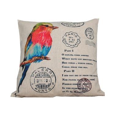 Hermosa Home Decor Bird 279 Bantal Sofa [45 x 45 cm]