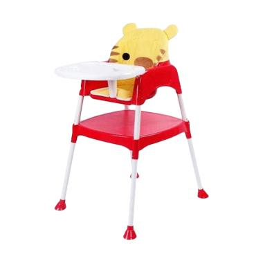 Baby Safe HC03B Separable High Chair Kursi Makan Bayi - Red