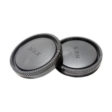 Third Party Body Rear & Lens Cap for Sony E-Mount NEX