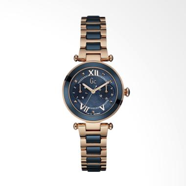 Guess Collection GC Y06009L7 Stainl ... nita - Dark Blue Rosegold