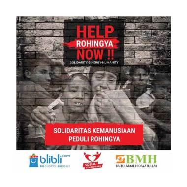 BMH - Solidaritas Kemanusiaan Peduli Rohingya 500.000 [Infaq Nasional]