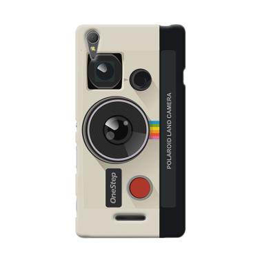 Premiumcaseid Retro Polaroid Camera Hardcase Casing for Sony Xperia T3