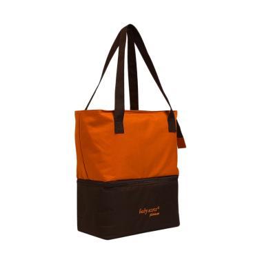 Baby Scots 073 Platinum Mommy Bag T ... g ( Plus Ice Gel)- Orange