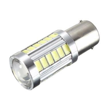JMS S25 1156 BA15S 33 SMD 5730 Lampu LED Mobil or Motor - White