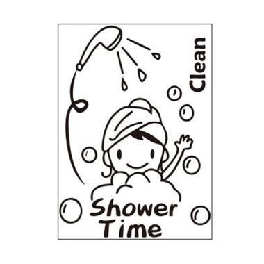 jual stiker dinding kamar mandi terbaru - harga murah | blibli