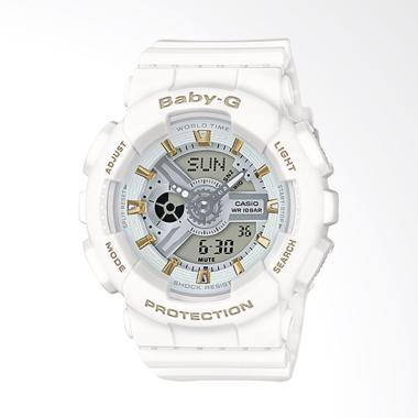 Jual Casio Baby G Ba 110 White Terbaru - Harga Murah  0aff1a5774