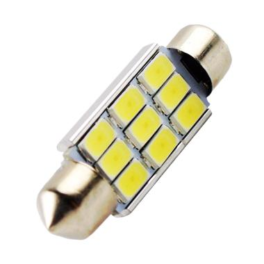 JMS Double Wedge CANBUS 9 SMD 5630  ... bil - White [1 Pcs/39 mm]