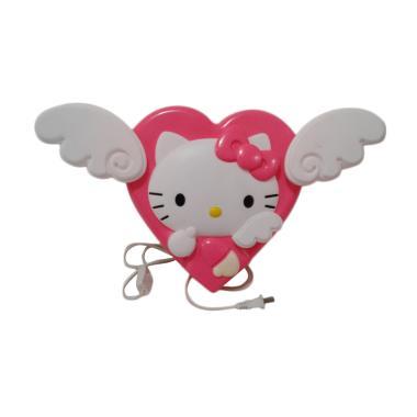 Hello Kitty Love Angle HK Lampu Hiasan - White Pink
