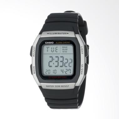 Casio Men's Alarm Chronograph Digit ... Jam Tangan Pria #W96H-1AV