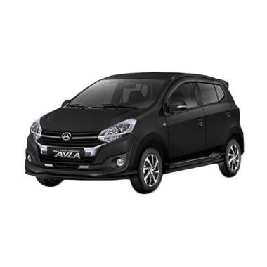 harga Daihatsu New Ayla 1.2 R Deluxe Mobil - Black Ultra Solid [Uang Muka Kredit ACC] 36 A/T Semarang Blibli.com