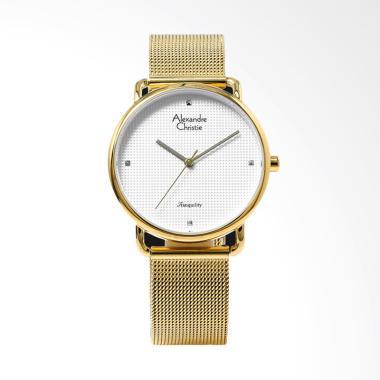 Alexandre Christie 2640 Jam Tangan Wanita - Gold