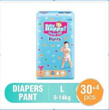 PAMPERS BABY HAPPY PANTS L30+4 / PAMPERS BABYHAPPY