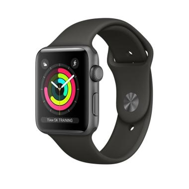 Apple Watch Series 3 GPS Space Grey ... t Band Smart Watch [38mm]