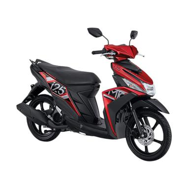 Yamaha New Mio M3 125 CW Sepeda Motor - Attractive Red