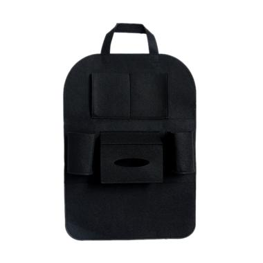 Car Seat organizer Tas Mobil Multifungsi - Black