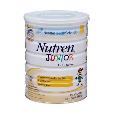 Nestle Nutren Junior Vanila Susu Formula [800gr]