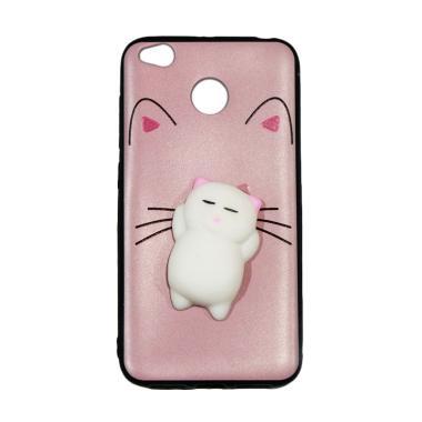 Winner Squishy Lazy Cat Softcase Casing for Xiaomi Redmi 4x