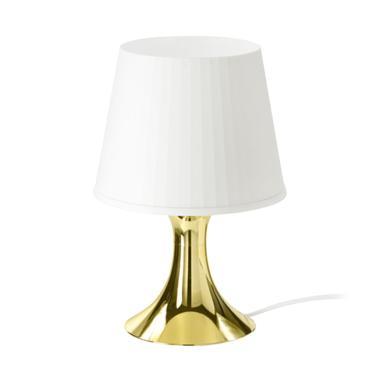 Ikea Lampan Lampu Meja - Emas
