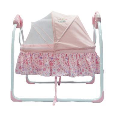 Babyelle 82006 Cradling Swing Tempat Tidur Bayi - Pink