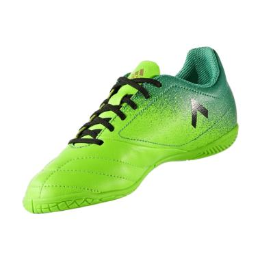 adidas Originals ACE 17.4 Sepatu Futsal Pria - Green [Versol BB5976]