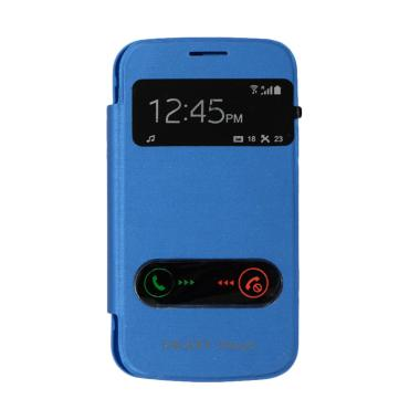 Winner View Flip Cover Casing for S ... us or Starpro - Soft Blue