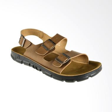 Bata Piete Men Sandal Pria - Beige [8633076]
