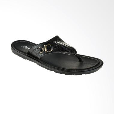 Bata Qatar Men Sandal Pria - Black [8746008]