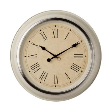 Ikea SKOVEL Quartz Wall Clock Jam Dinding Quartz