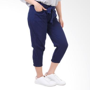 JSK Jeans JSK7731 Pinggang dan Kaki ... ana Wanita - Biru Dongker