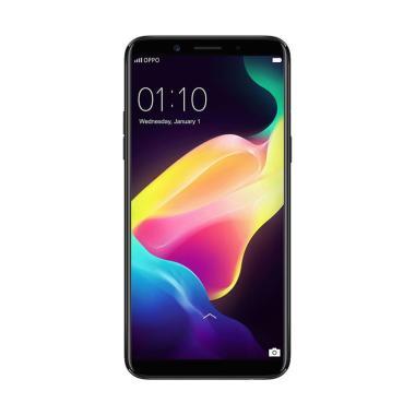 Oppo F5 Smartphone - Black [64GB/6GB] READY