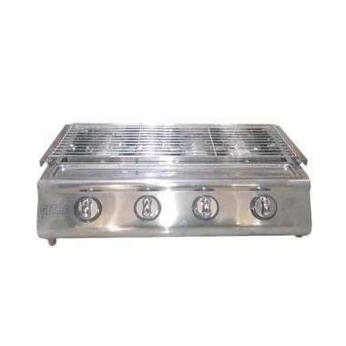 Getra ETK-222s Stainless Roaster Kompor Gas Pemanggang [4 Tungku]