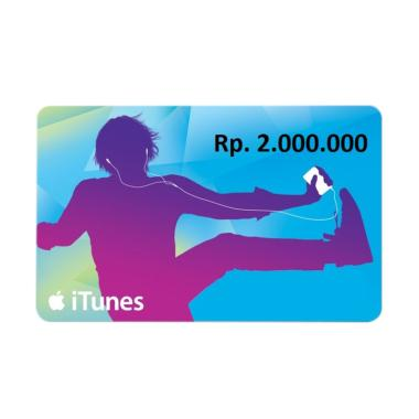 iTunes Gift Card Region Indonesia Rp. 2.000.000