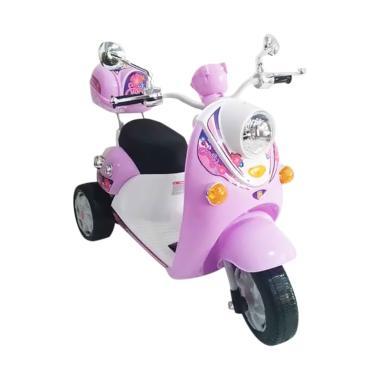 harga PMB M338 Scoopy Motor Mainan Aki - Pink Blibli.com