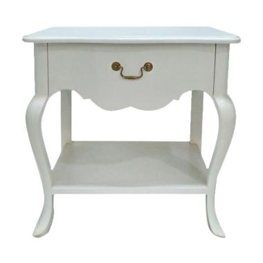LD Furniture Girl Meja Nakas - White