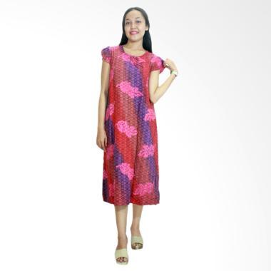 Batik Alhadi RDT006-01C Daster Yukensi Batik Cap Pekalongan Baju Tidur