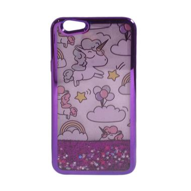 OEM Water Glitter Aquarium Motif Pe ... ing for OPPO F1S - Purple