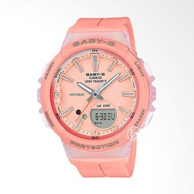 harga CASIO Baby-G BGS-100-4A Step Tracker Jam Tangan Wanita - Pink Blibli.com