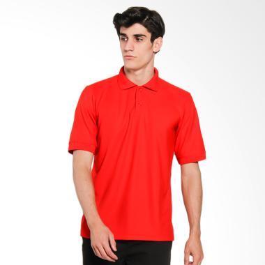 Papercut Men Dixon Polo Shirt Atasan Pria - Red