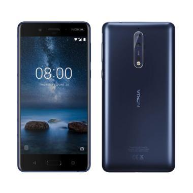 Nokia 8 Smartphone - Polished Blue