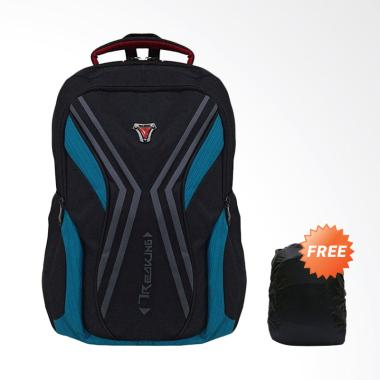 Bag & Stuff Criciano Laptop Backpack up to 14 Inch - Toska + Raincover