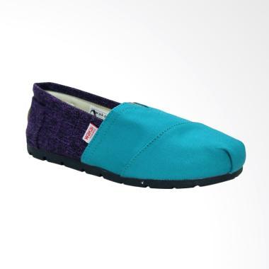 Wakai WAK-SW017BG-HANAMI Sepatu Unisex - Purple Turquoise