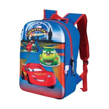 Catenzo Junior 3D Cars McQueen Tas Sekolah Anak Laki-Laki